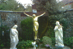 The Calvary in the grounds of Church of the Annunciaton