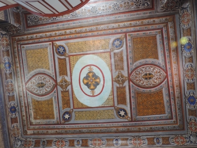 Church of Assumption of Virgin Mary, Mytilene Island of Lesbos - View of Ceiling